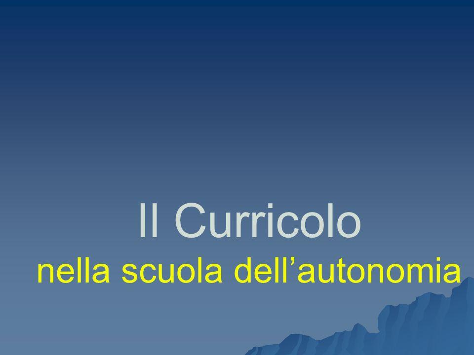 Autonomia e curricolo Udine, febbraio 2008 DS Caterina Manco 22 A proposito di obiettivi Chi li individua.