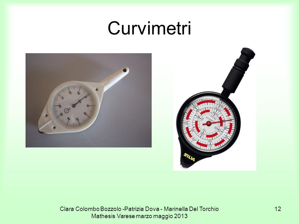 Clara Colombo Bozzolo -Patrizia Dova - Marinella Del Torchio Mathesis Varese marzo maggio 2013 12 Curvimetri