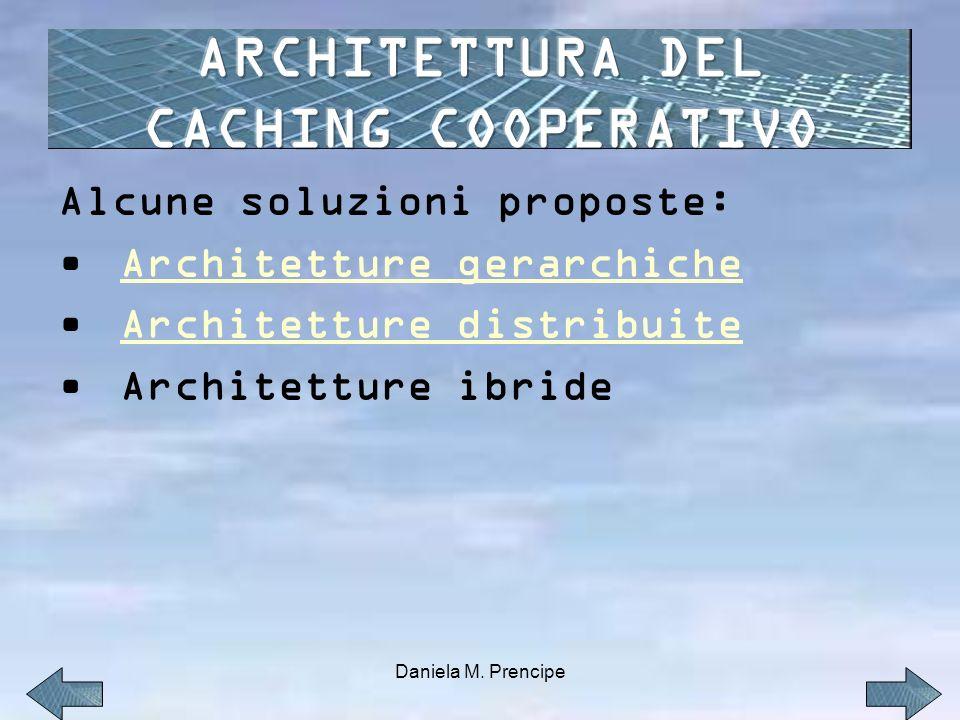 Alcune soluzioni proposte: Architetture gerarchiche Architetture distribuite Architetture ibride