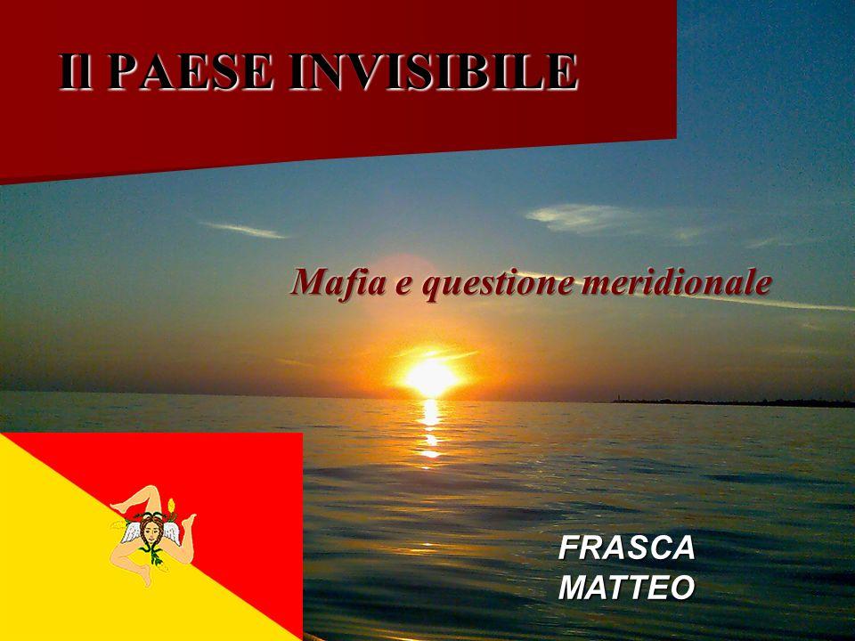 Il PAESE INVISIBILE FRASCA MATTEO
