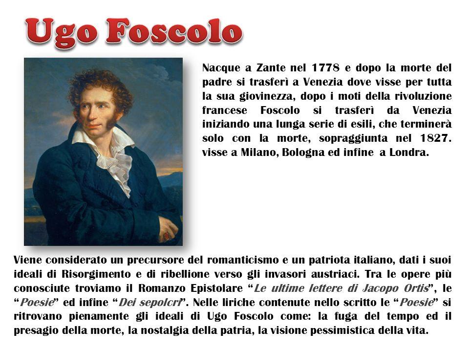 Nacque a Zante nel 1778 e dopo la morte del padre si trasferì a Venezia dove visse per tutta la sua giovinezza, dopo i moti della rivoluzione francese