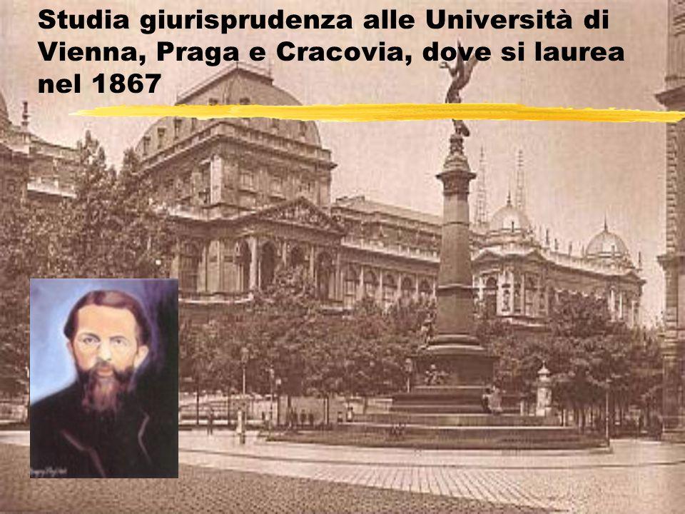 Nel 1867 ottiene un importante incarico governativo In questo periodo scrive i Principi di economia nazionale (1871)