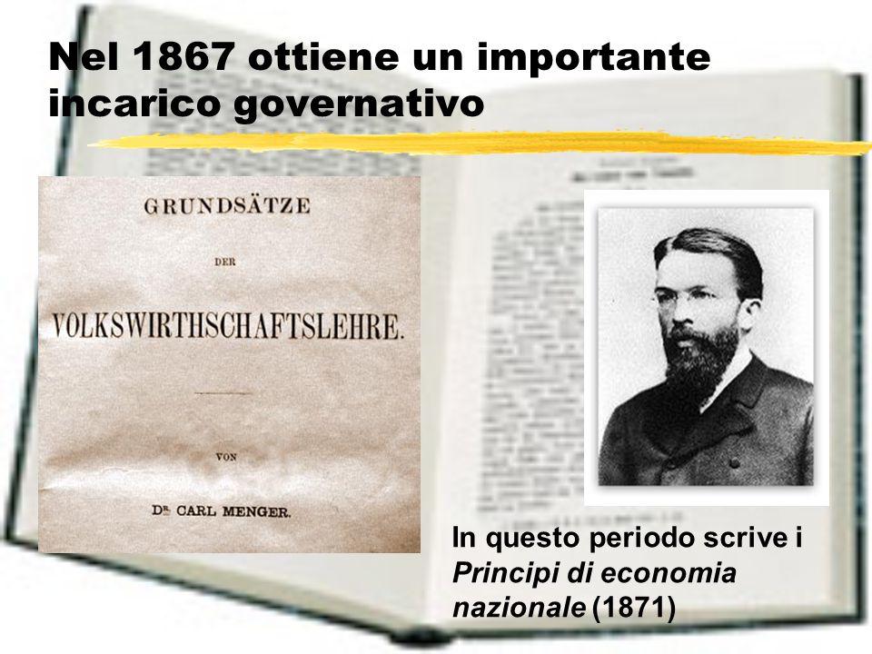 Il Methodenstreit I fatti 1883.