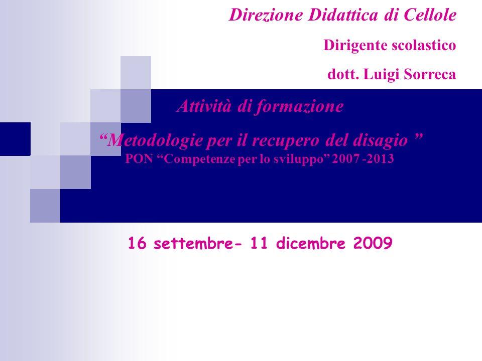 Direzione Didattica di Cellole Dirigente scolastico dott.
