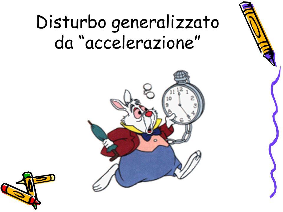 Disturbo generalizzato da accelerazione