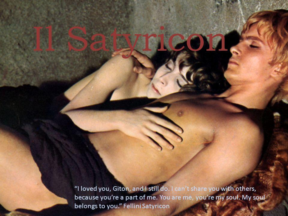 La questione del genere letterario Il Satyricon viene abitualmente definito un romanzo, sebbene in epoche romane non esistesse un genere letterario corrispondente al romanzo moderno.