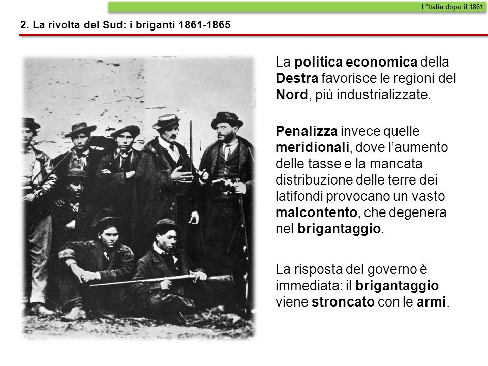 Tra il 1866 e il 1870 lItalia completa la sua unificazione.