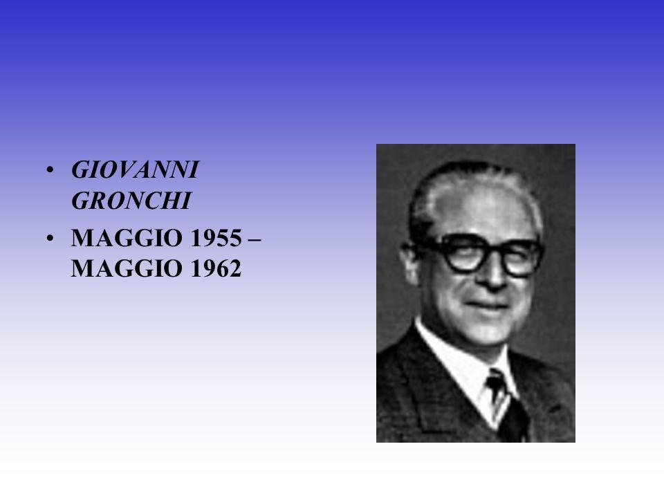 LUIGI EINAUDI MAGGIO 1948 – MAGGIO 1955
