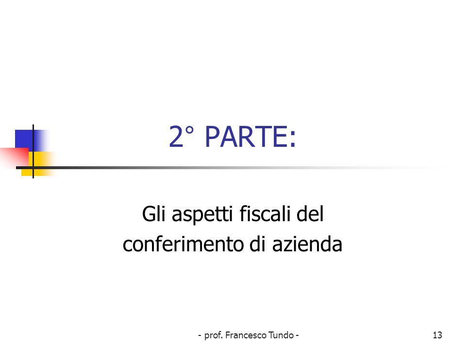 - prof.Francesco Tundo -14 Art.