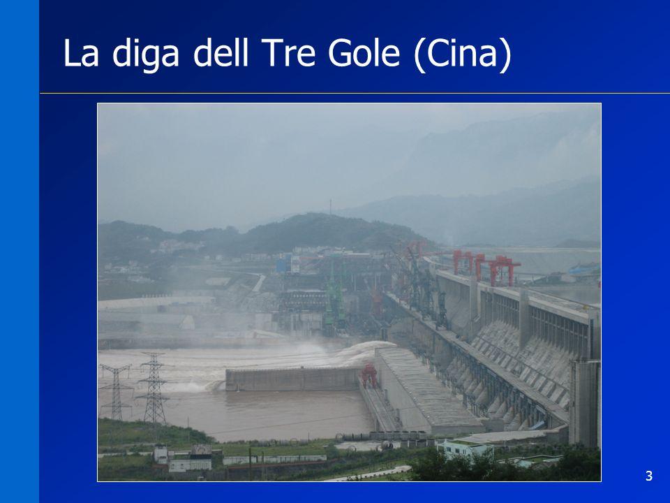 3 La diga dell Tre Gole (Cina)