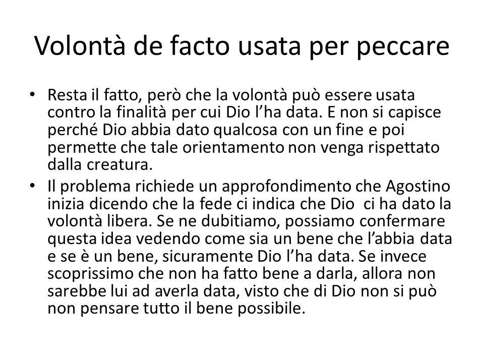 Oltre la fede la ragione Agostino però vuole chiarire le cose secondo la ragione, dunque parte da una posizione di incertezza (una sorta di dubbio metodologico).
