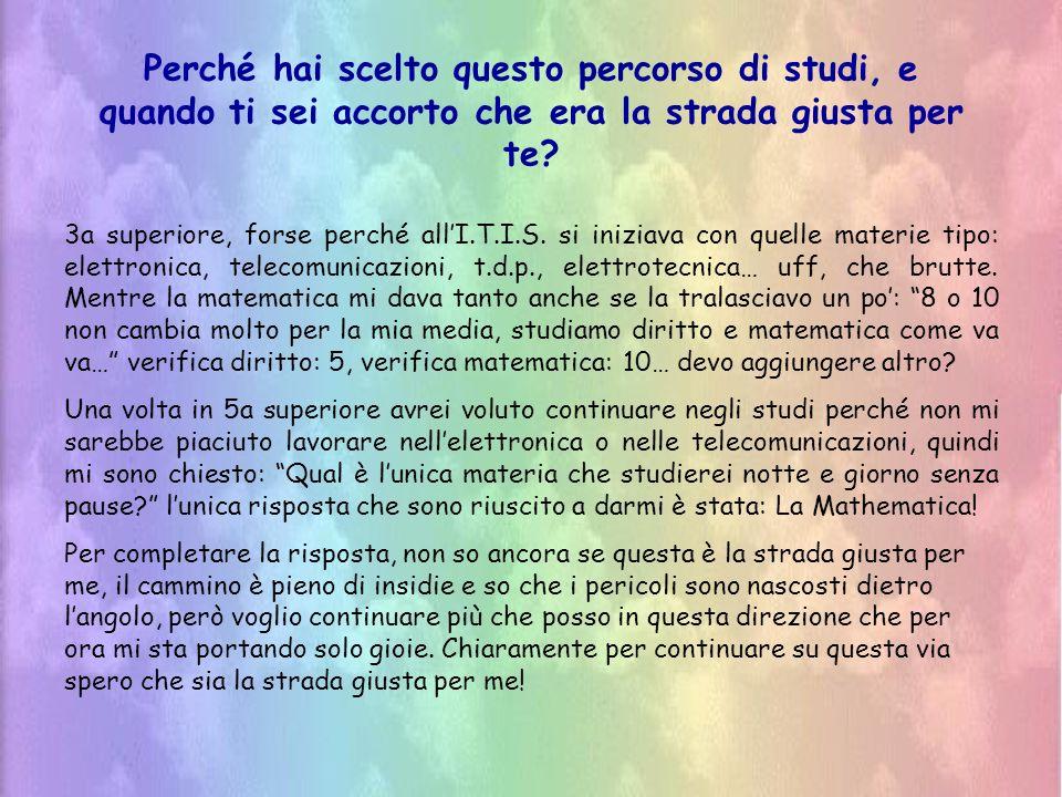 Secondo te quali sono le difficoltà che rendono difficoltoso lapprendimento della matematica nei bambini.