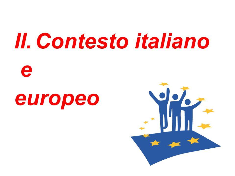 II.Contesto italiano e europeo