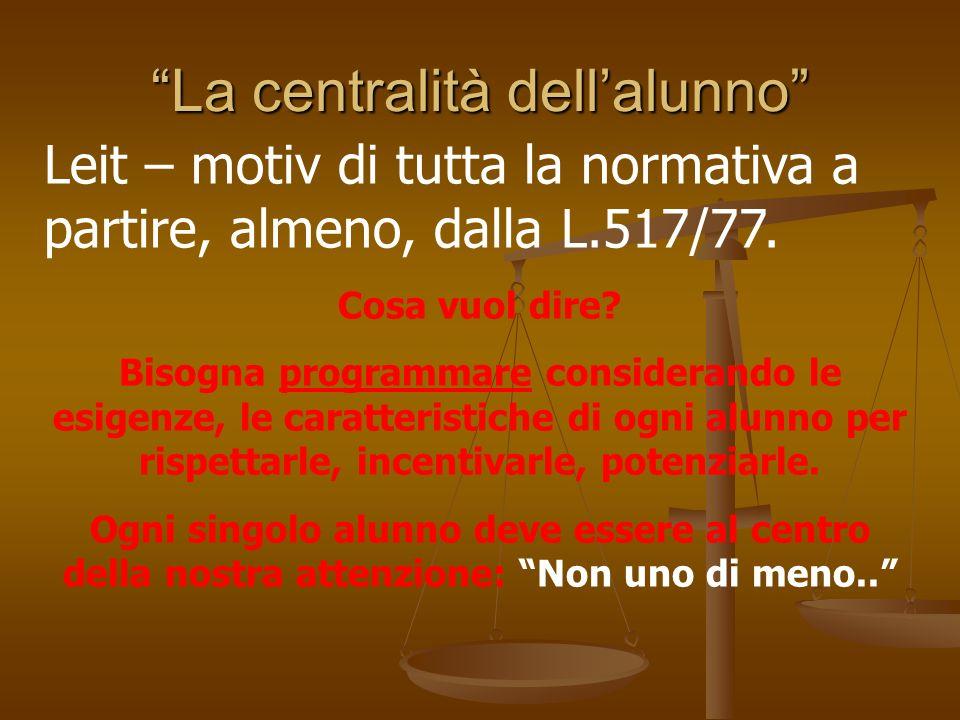 Il giudizio valutativo:III modello Viene formulato sulla base di un confronto tra le prestazioni fornite dal singolo allievo nel corso del processo formativo.