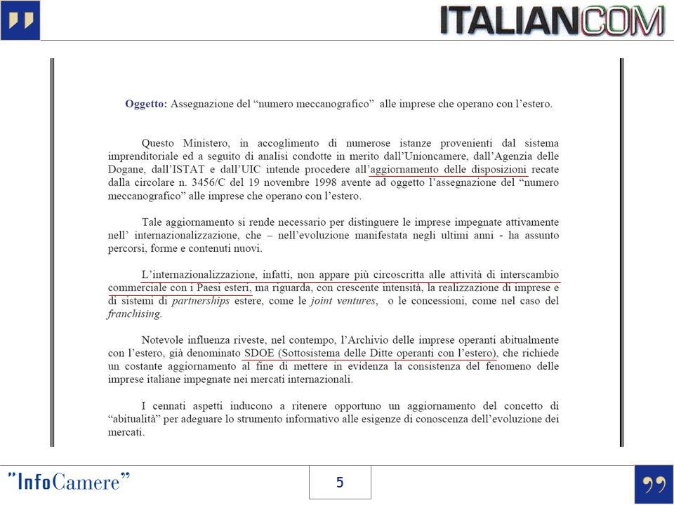> dal 29 Ottobre 2007 … SDOEITALIANCOM nuove assegnazioni convalide