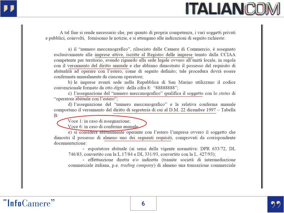 > LA CONVALIDA 27 ottobre 2007 27 ottobre 2008 data scadenza convalida SI = operativa NO = sospesa istanza di convalida .