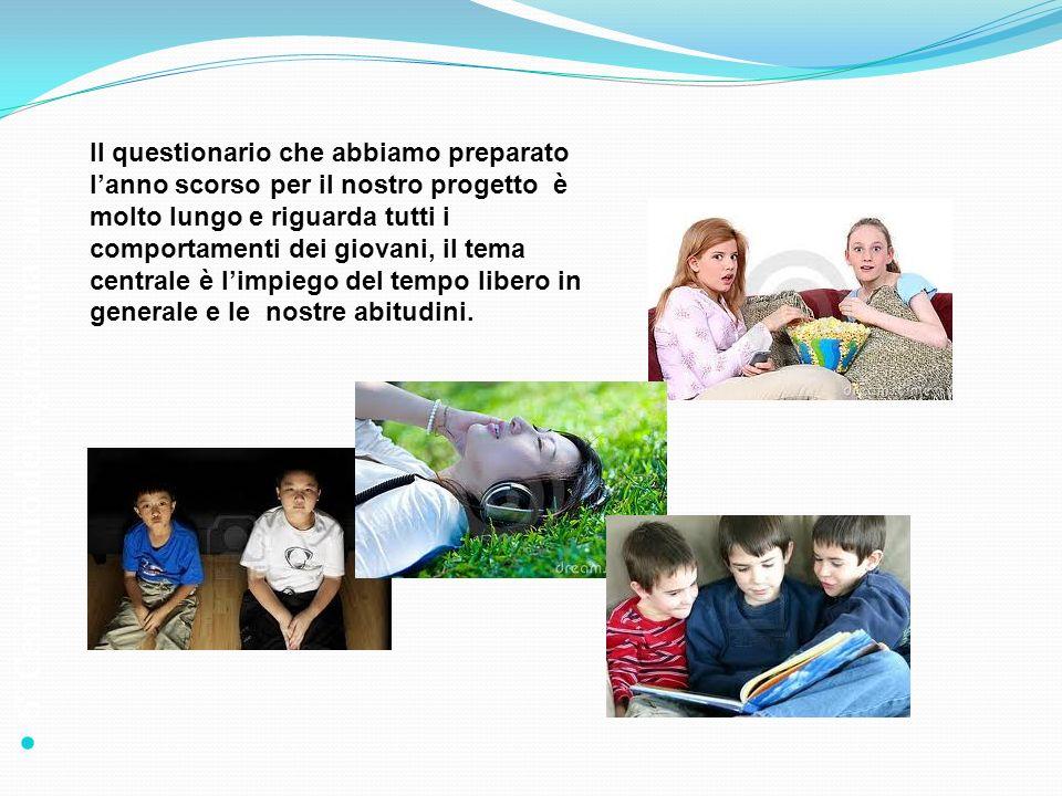 6° Censimento dellagricoltura 2010 Il questionario che abbiamo preparato lanno scorso per il nostro progetto è molto lungo e riguarda tutti i comporta