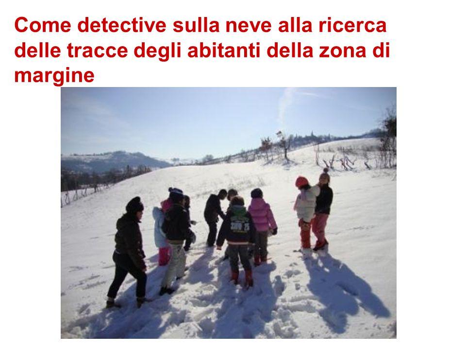 Come detective sulla neve alla ricerca delle tracce degli abitanti della zona di margine