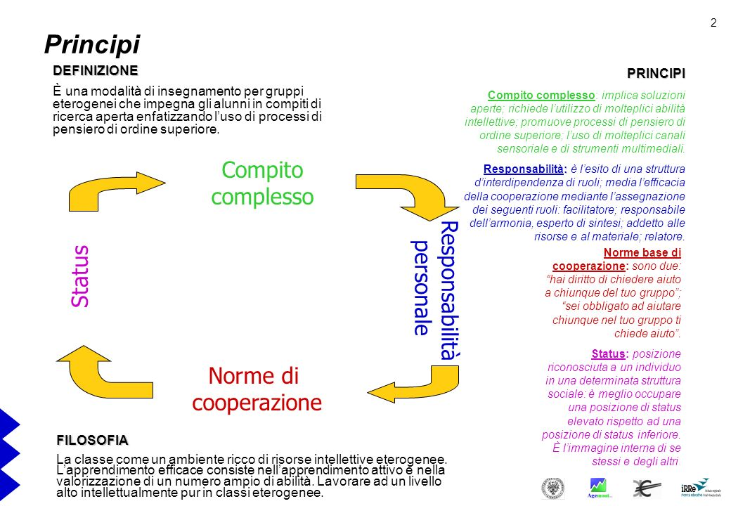 Complex Instruction (LIstruzione complessa) Elisabeth Cohen