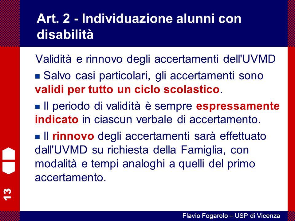 13 Flavio Fogarolo – USP di Vicenza Art.