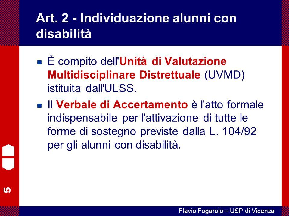 5 Flavio Fogarolo – USP di Vicenza Art.