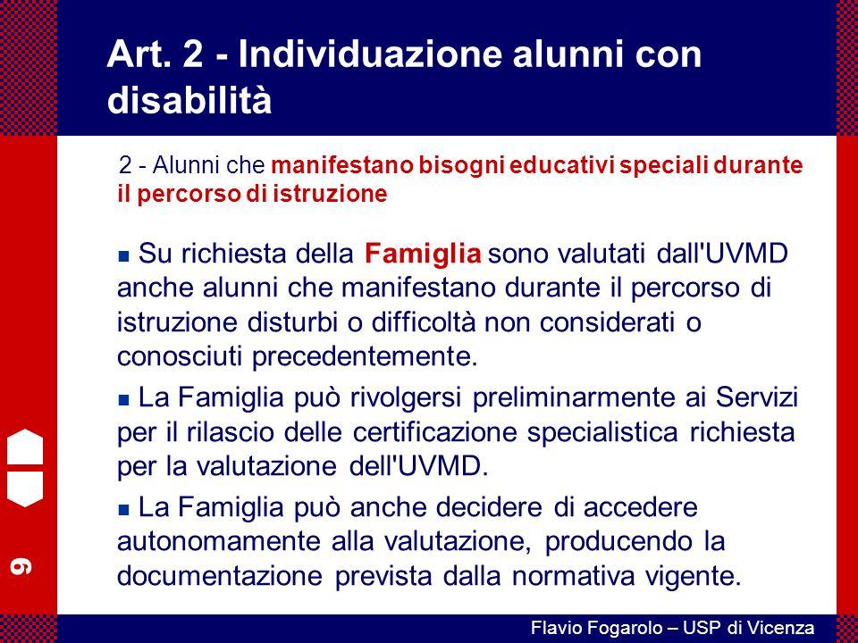 9 Flavio Fogarolo – USP di Vicenza Art.