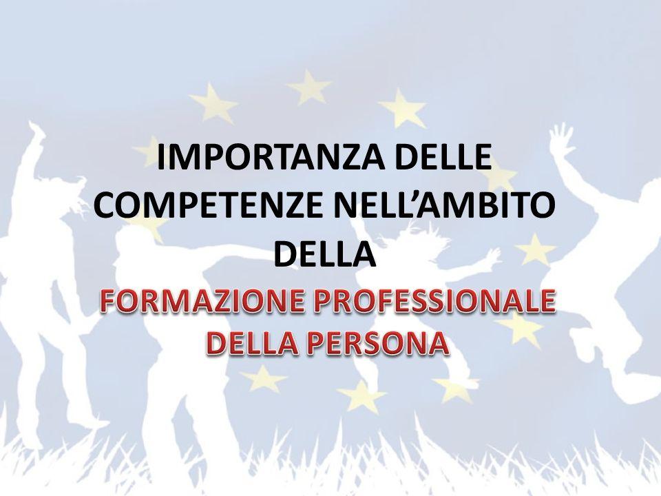 IMPORTANZA DELLE COMPETENZE NELLAMBITO DELLA