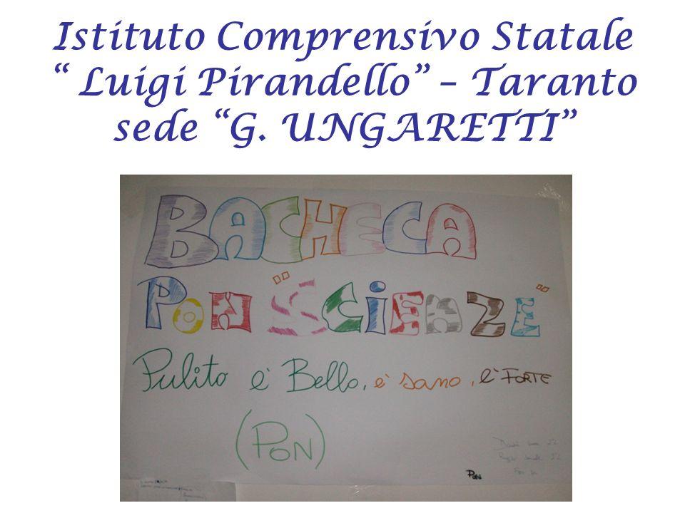 Istituto Comprensivo Statale Luigi Pirandello – Taranto sede G. UNGARETTI