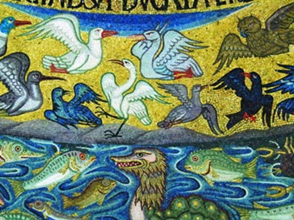 17 gennaio 2013 La Bibbia Genesi 1 E Dio disse: «Brulichino le acque d'un brulichio d'esseri viventi, e volatili volino sopra la terra, sullo sfondo d