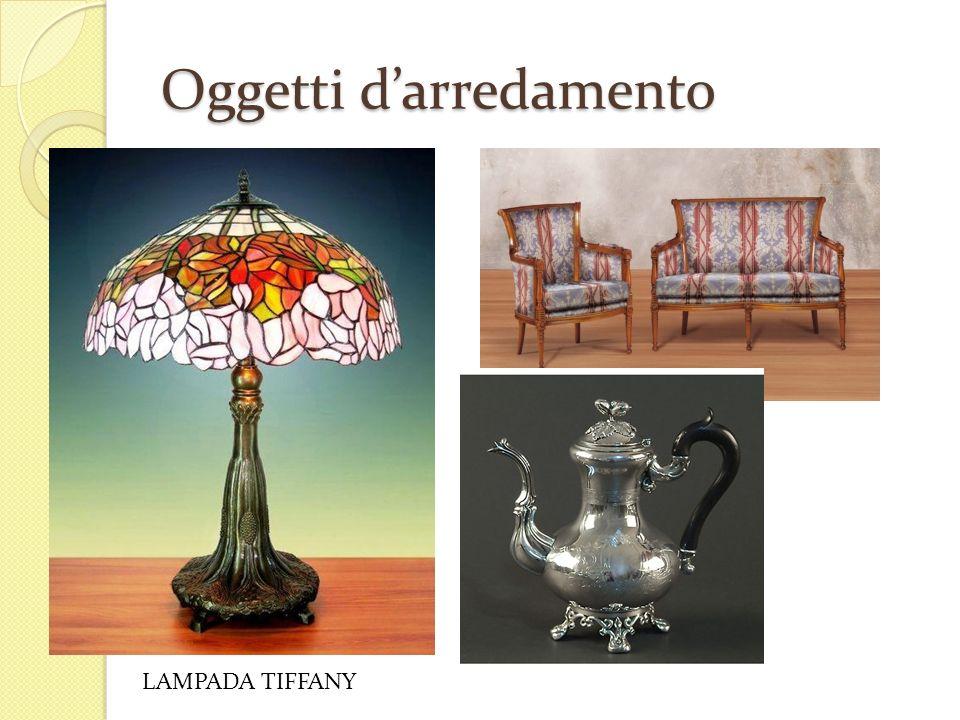 Oggetti darredamento LAMPADA TIFFANY