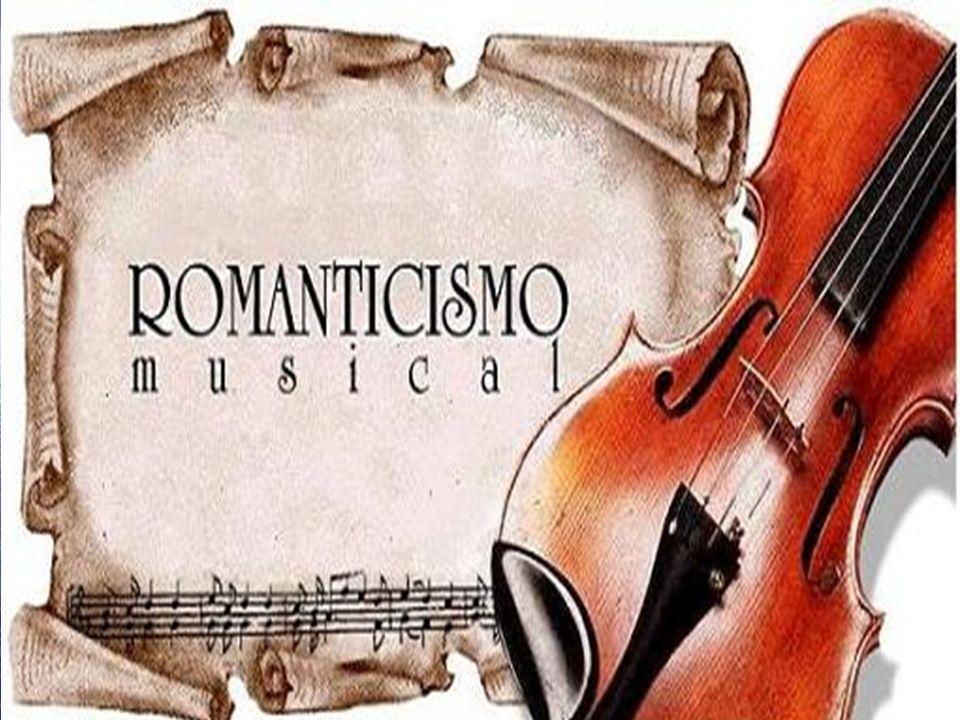 In musica… Il Romanticismo irrompe pure nel campo della musica.