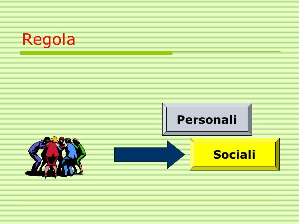 Regola Personali Sociali