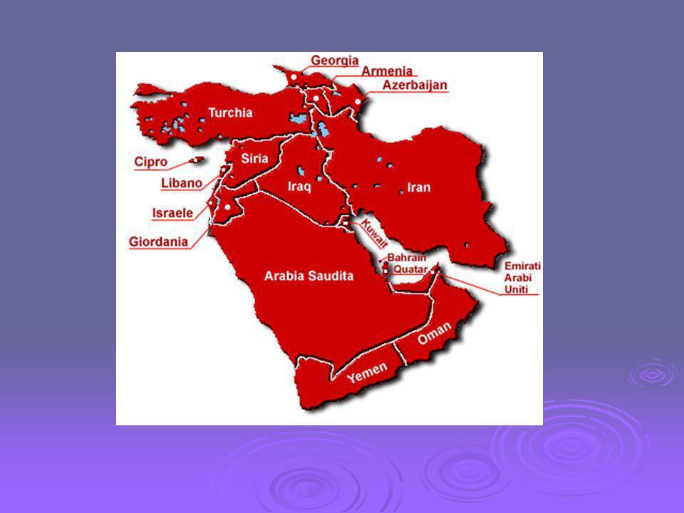 Il Medio Oriente Il Medio Oriente comprende Iran e Afghanistan.
