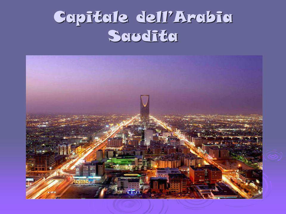 Capitale dellArabia Saudita