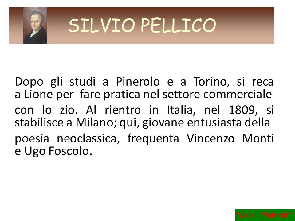 Dopo gli studi a Pinerolo e a Torino, si reca a Lione per fare pratica nel settore commerciale con lo zio. Al rientro in Italia, nel 1809, si stabilis