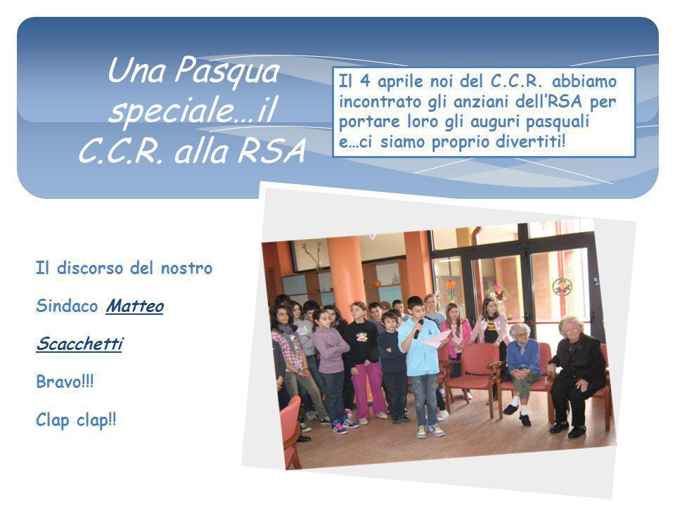 Il discorso del nostro Sindaco Matteo Scacchetti Bravo!!.