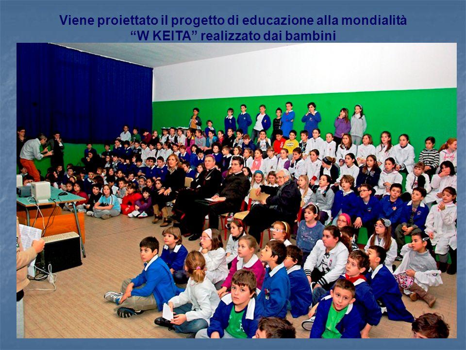 Viene proiettato il progetto di educazione alla mondialità W KEITA realizzato dai bambini