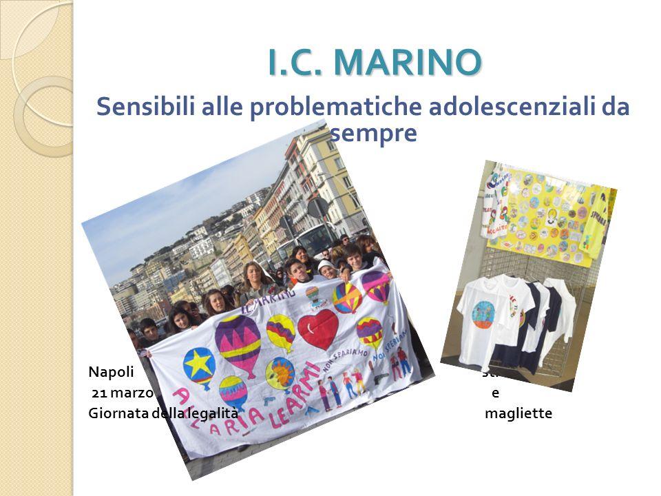 I.C. MARINO Sensibili alle problematiche ambientali Parco nazionale del Vesuvio, 10 maggio 2010