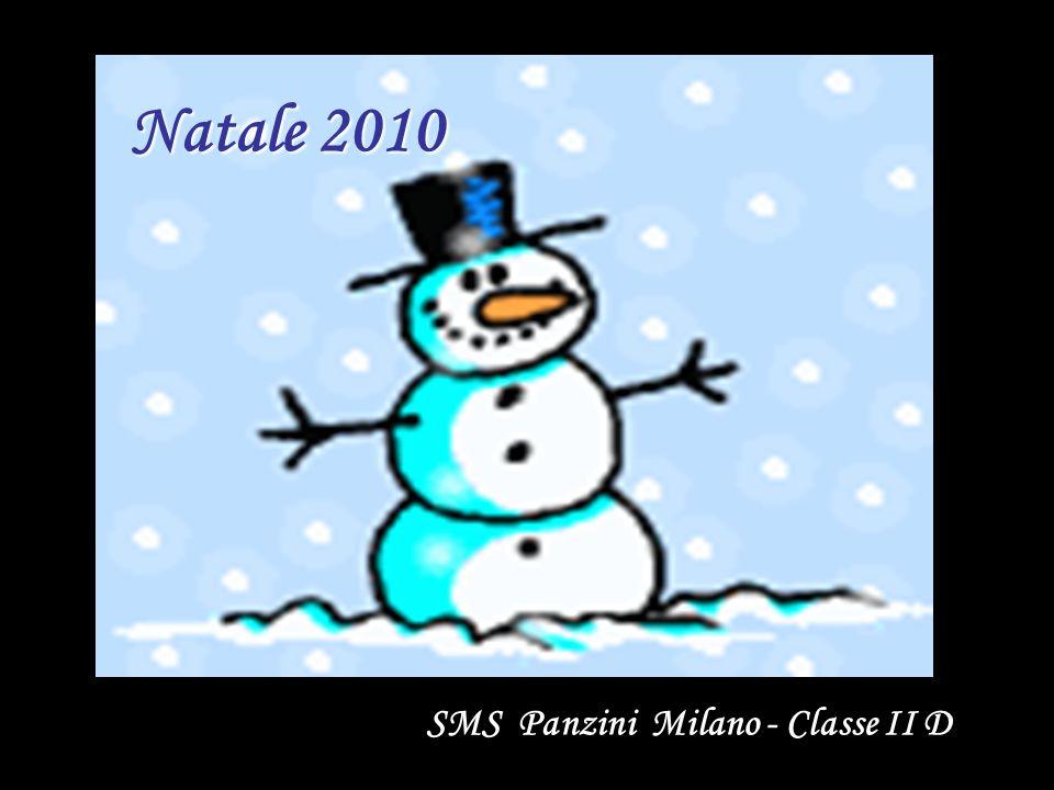 Natale 2010 SMS Panzini Milano - Classe II D