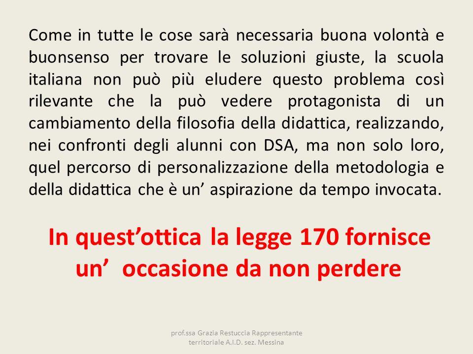 Come in tutte le cose sarà necessaria buona volontà e buonsenso per trovare le soluzioni giuste, la scuola italiana non può più eludere questo problem