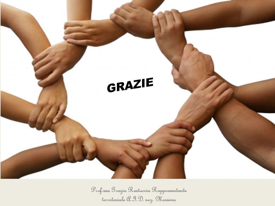 Prof.ssa Grazia Restuccia Rappresentante territoriale A.I.D. sez. Messina