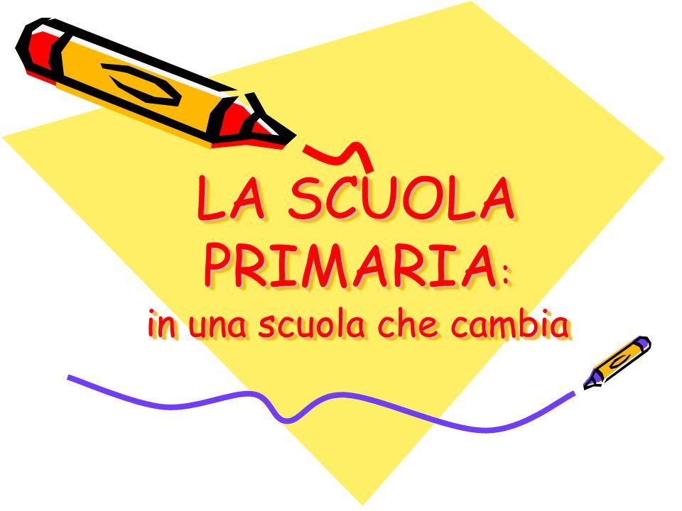 SCUOLA PRIMARIA + SCUOLA SECONDARIA DI PRIMO GRADO PRIMO CICLO DISTRUZIONE