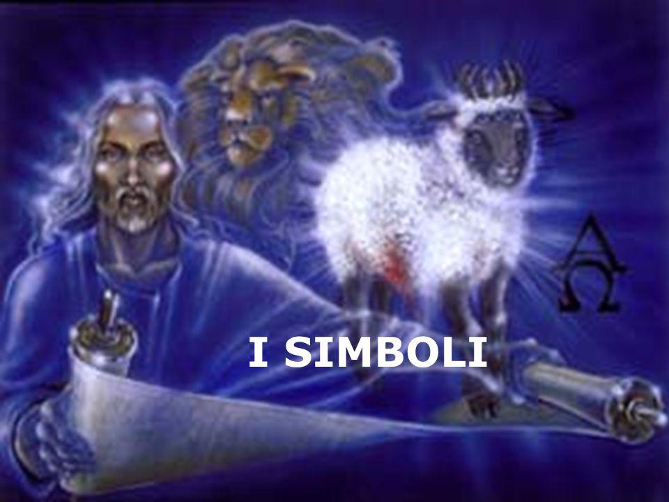 «Poi vidi ritto in mezzo al trono circondato dai quattro esseri viventi e dai vegliardi un Agnello, come im- molato.