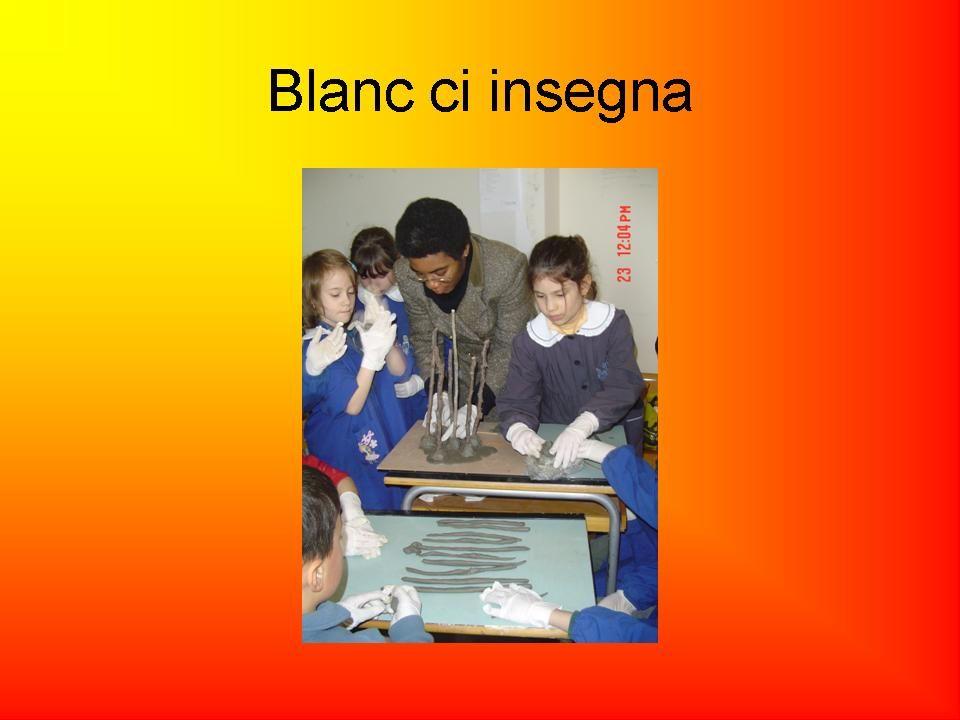 Blanc ci insegna