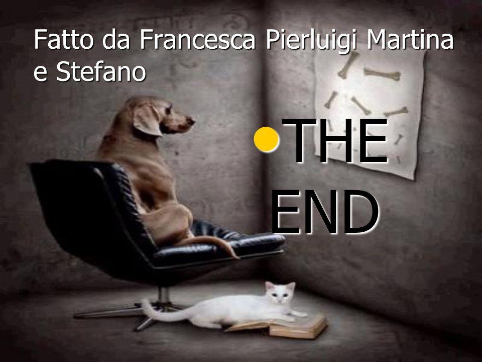 Fatto da Francesca Pierluigi Martina e Stefano THE END THE END