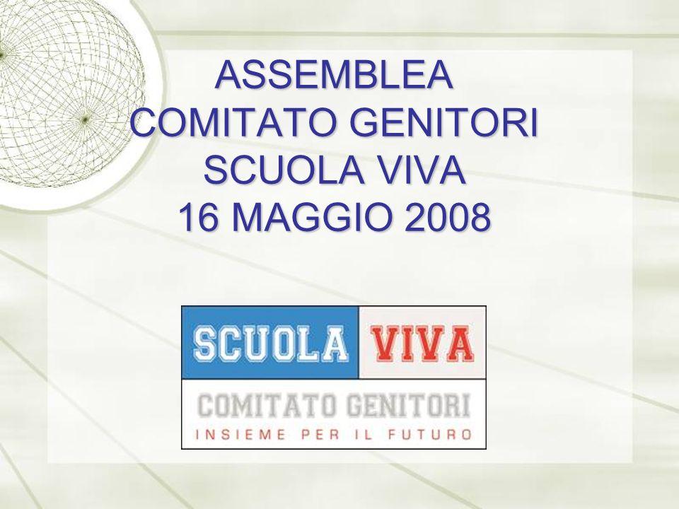 ASSEMBLEA COMITATO GENITORI SCUOLA VIVA 16 MAGGIO 2008
