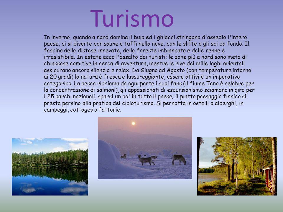 Gastronomia La posizione geografica della Finlandia, tra occidente e oriente, ha naturalmente influenzato le sue abitudini culinarie.