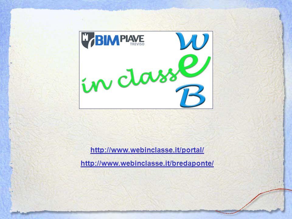 http://www.webinclasse.it/portal/ http://www.webinclasse.it/bredaponte/