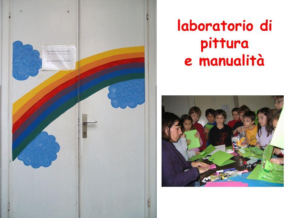 laboratorio di pittura e manualità