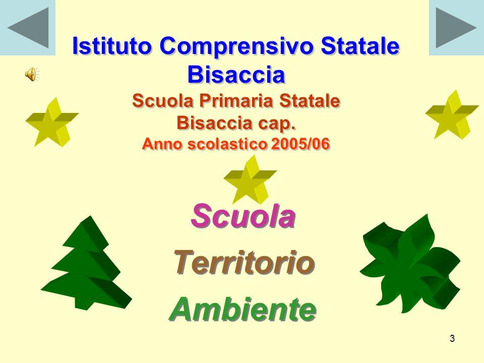 3 Istituto Comprensivo Statale Bisaccia Scuola Primaria Statale Bisaccia cap.